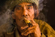 burma, smoker, portrait, cherub, myanmar, traditional, culture, people, old man
