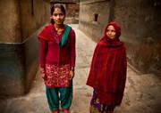 durbar square,kathmandu,nepal,culture,portrait,street,women,red,generations