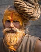 pashputinath, sadhu,temple, nepal, culture, dreadlocks,coil, kathmandu