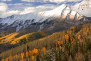 Colorado, San Juan, Mountains, Autumn, Telluride, snow, San Sofia, Campbell