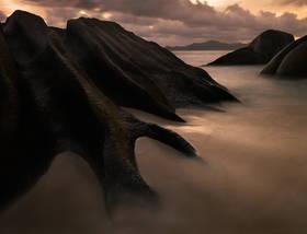 la digue picture,seychelles picture,la digue boulders,seychelles sunset,anse source