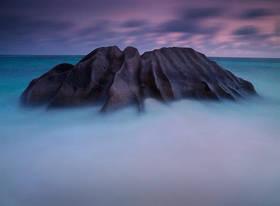 seychelles picture,prehistoric,seychelles boulder,anse source,la digue rocks,seychelles sunset