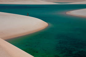 lencois maranhenses, sand dunes, walking, lakes, laguna bonita
