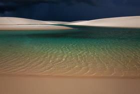 lencois maranhenses, brazil beach, sand dunes, storm, shoreline, thunderstorm, brasil beach,