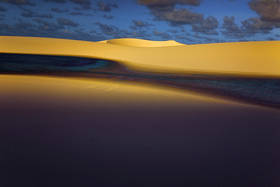 lencois maranhenses,sand dunes,lakes,lagoa,laguna,sunset,clouds,brazil landscapes,brasil,sao luis