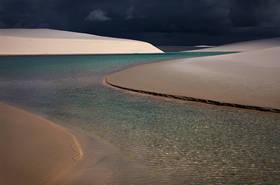 lencois maranhenses,brazil landscapes,brasil,beach,sand dune,lake,laguna,praia,thunderstorm