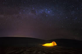 lencois maranhenses, sand dunes, milky way, stars, night photo, tent, camp, southern cross, brasil, brazil, Barreirinhas