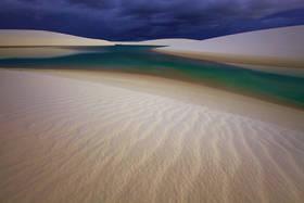 lencois maranhenses,sand dunes,twilight,brazil beach,brasil,tropical,empty landscape