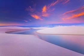 lencois maranhenses, sand dunes, sunrise, sunset, lakes, beach ,brazil, brasil