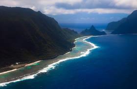 samoa tsunami, ofu island, american samoa, vaoto lodge, national park, photos