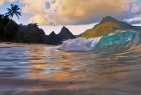 Breaking Waves, Ofu Beach.