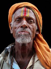 sadhu, kathmandu, culture, nepal, portrait, hindu