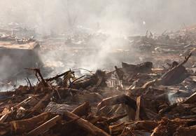samoa tsunami photos, pictures, lalomanu, taufua, litia sini, destruction
