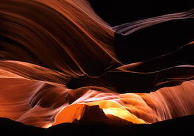 antelope, canyon, canyoneering, redrock, sandstone, glow, monument valley, arizona