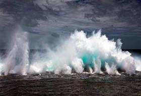 tonga blowholes,mapua,blow hole,surf,tongetapu,global warming,waves