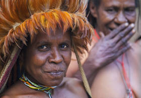 Dani, tribe, Baliem, portrait, women, culture, New Guinea, West Papua