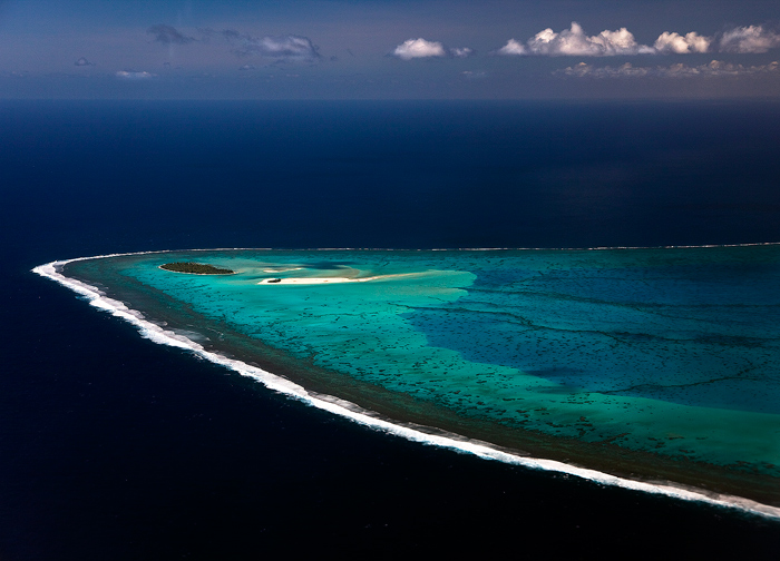 aitutaki aerial view,aitutaki lagoon, maina island,motu,aerial photo,cook islands,at, photo
