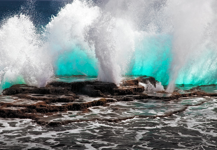 mapua,tonga blow holes,blowhole,surf,tongetapu,lava cliff,island,south pacific, photo