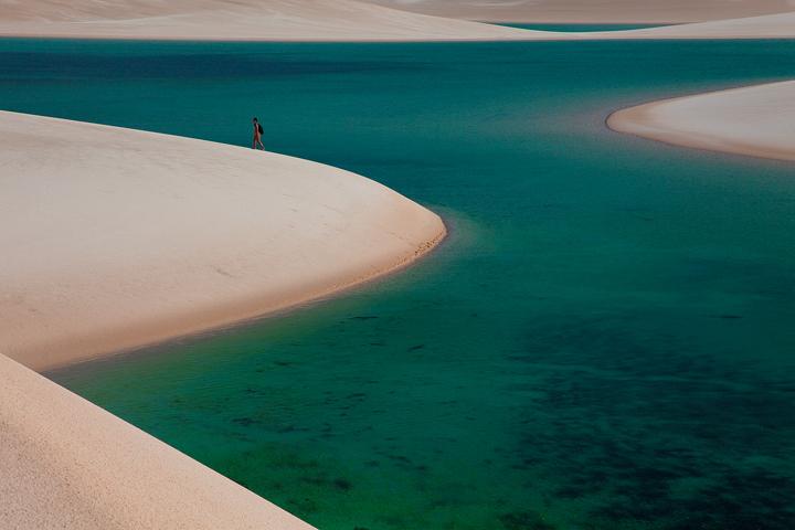 lencois maranhenses, sand dunes, walking, lakes, laguna bonita, photo