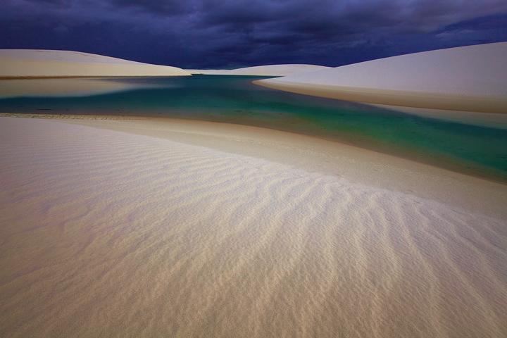 lencois maranhenses,sand dunes,twilight,brazil beach,brasil,tropical,empty landscape, photo