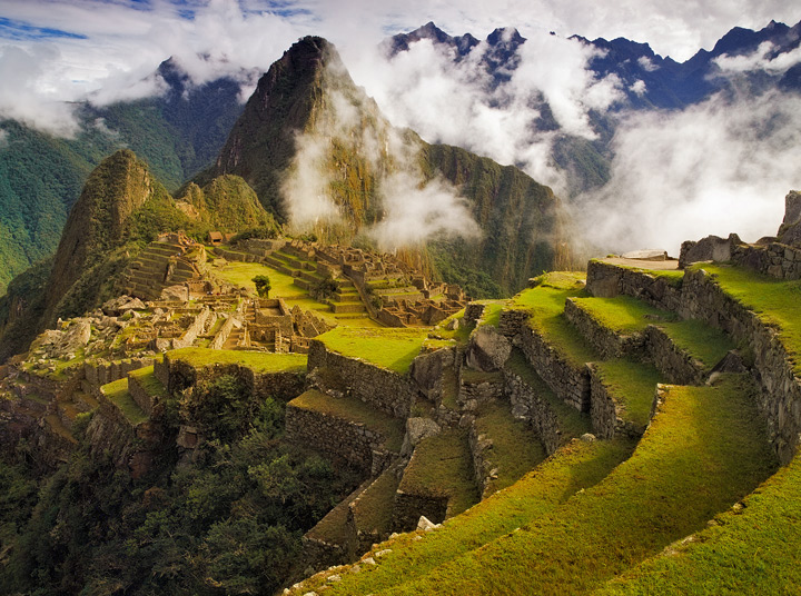 machu picchu, peru, inca ruins, sunrise, sun gate, inca trail, trek, classic trek , photo