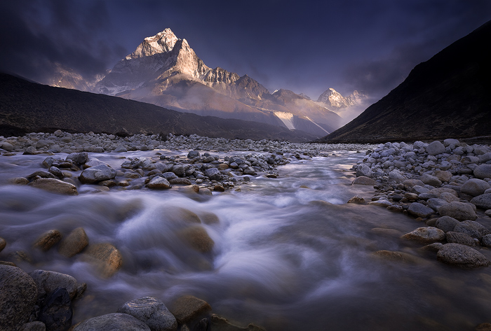 ama dablam photo,everest trek pictures,ama dablam picture,himalaya picture,sunset, photo